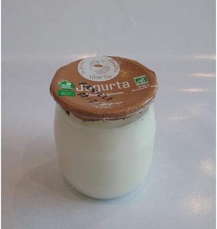 yaourt de vache bio à la vanille